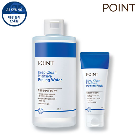 Point Deep CLEAN Intensive Peeling Duo (Peeling Water + Peeling Pack)
