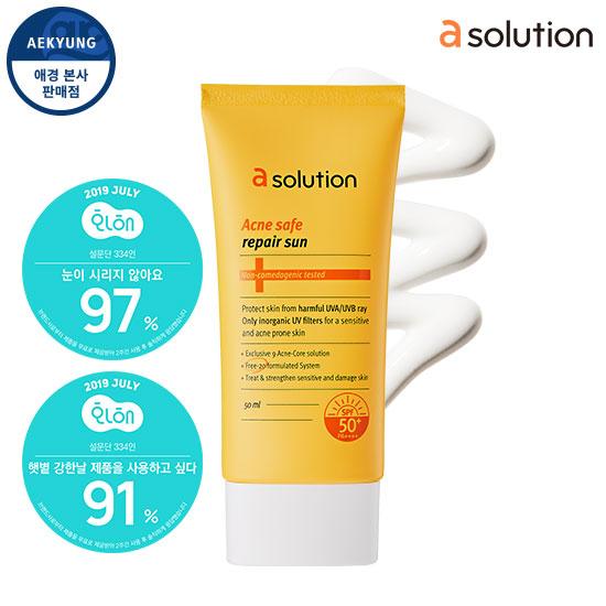 Asolution Acne Repair Repair Line SPF50 + / PA ++++