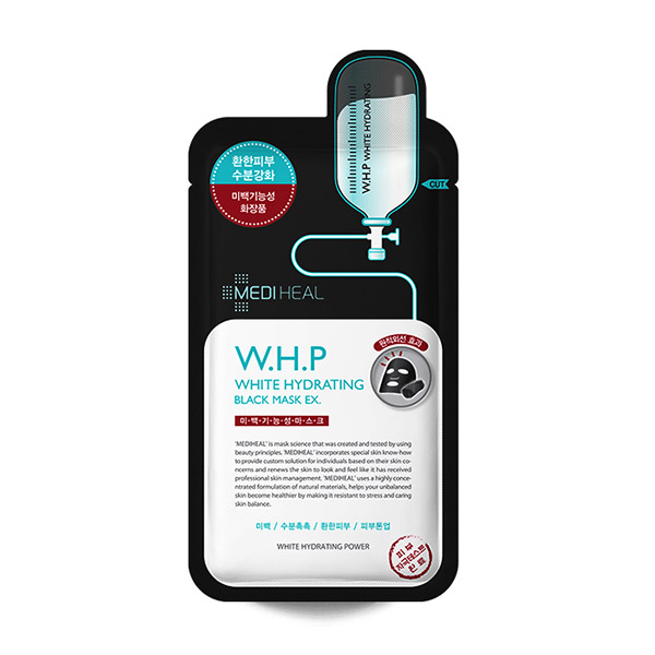 Mediheal WHP Whitening Moisture Charcoal Mineral Mask (EX)