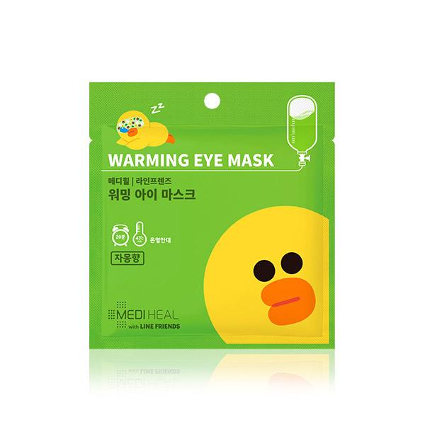 Mediheal line friends warming eye mask