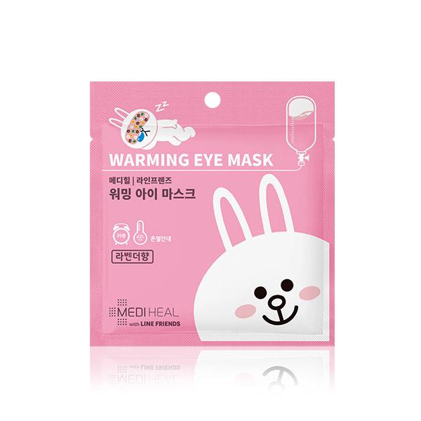Mediheal line friends warming eye mask (lavender flavor)