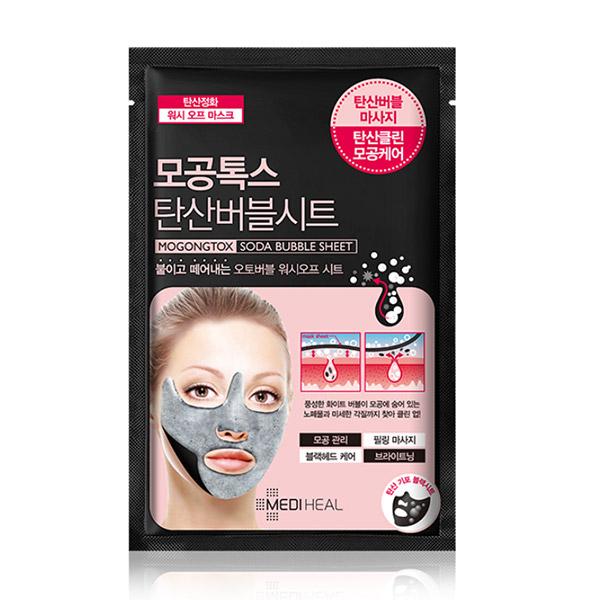 Mediheal pore toxic carbonate bubble sheet