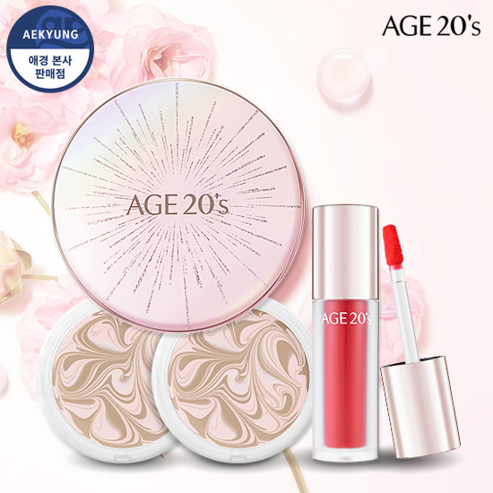 Age to Wellness essence Cover Pact Blooming Edition Special Set