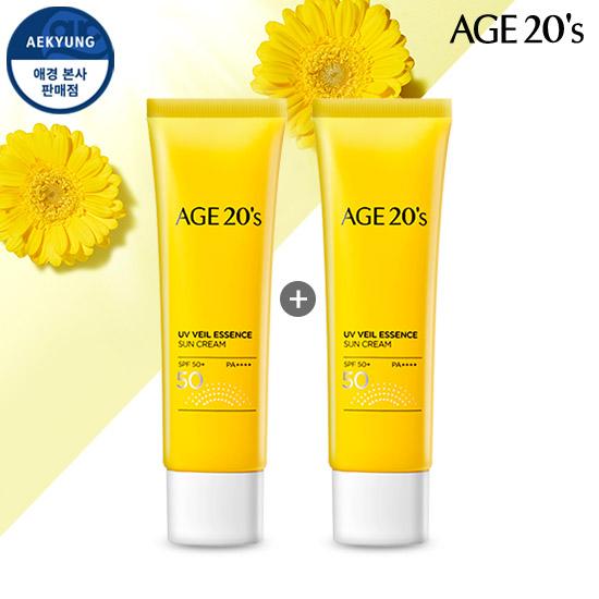 (1 + 1) AGE TO WENIS UV Veil essence Sunscreen SPF50 + / PA ++++