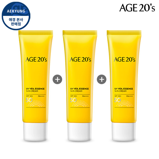 (1 + 1 + 1) AGE TO WENIS UV VAIL essence Sunscreen SPF50 + / PA ++++