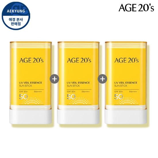 (1 + 1 + 1) AGE TO WENIS UV Veil essence Sun stick SPF50 + / PA ++++