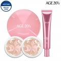 Age-to-Wennis essence Cover Pact LF Radiance Edition Special Set (box + Refill 2 + Eye Cream)