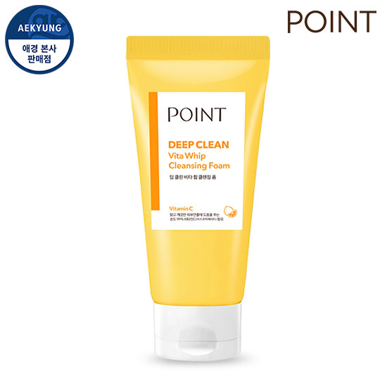 Point Deep Clean Vita Whip Cleansing Foam 175g
