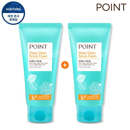 [1 + 1] Point Deep Clean Scrub Foam 150g