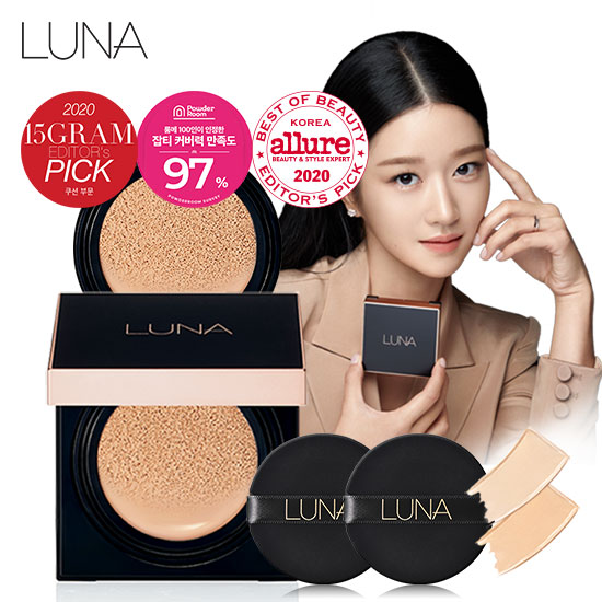 Luna Long Lasting Concealer Cushion (Body + Refill)